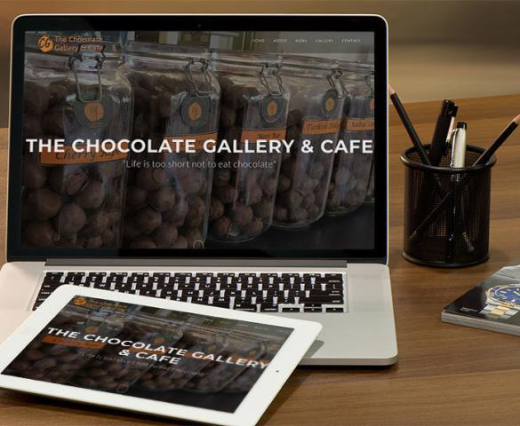 WordPress Website Development - Chocolate Gallery Stanley