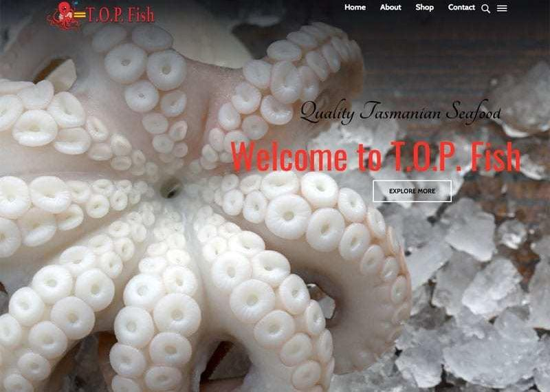 T.O.P. Fish – Website Design